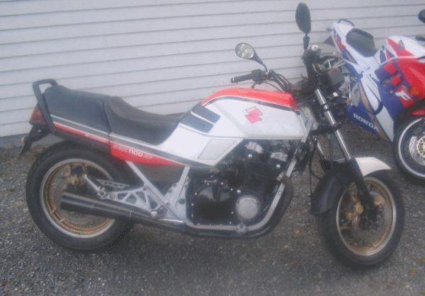 Suzuki GSX 1100 EF -85