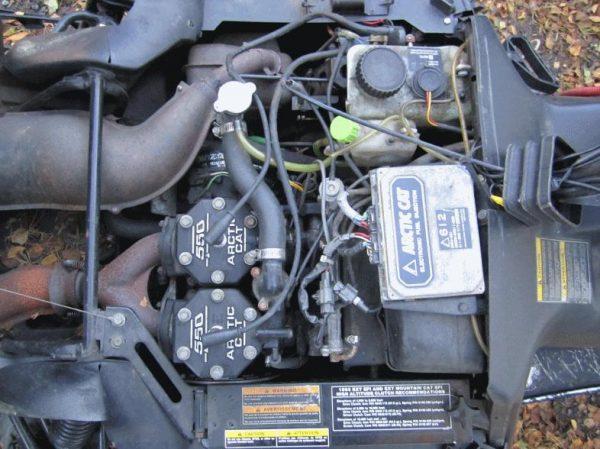 Arctic Cat EXT 550 EFI -93