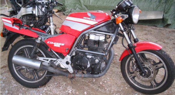 Honda CB 450 S -86