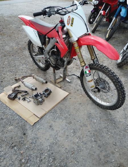 Honda CRF 250 -06