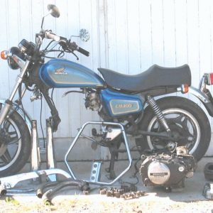 Honda CM 400 -82