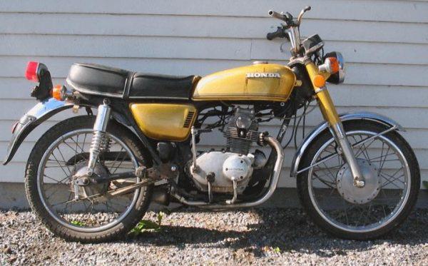 Honda CB 125 -73