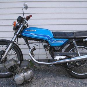 Honda CB 125 -79