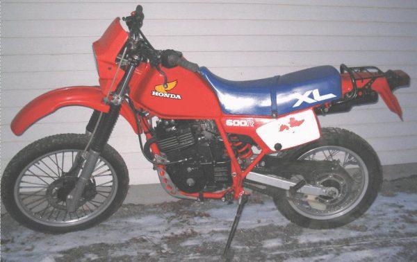 Honda XL 600R -85
