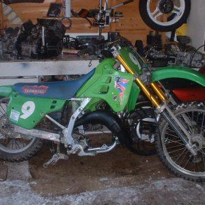 Kawasaki KX 250 -91