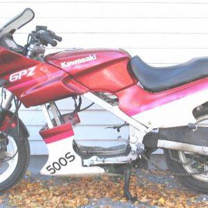 Kawasaki GPZ 500S -91