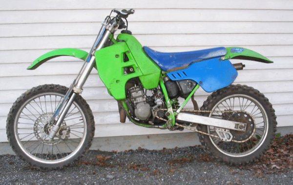Kawasaki KX 125 -89