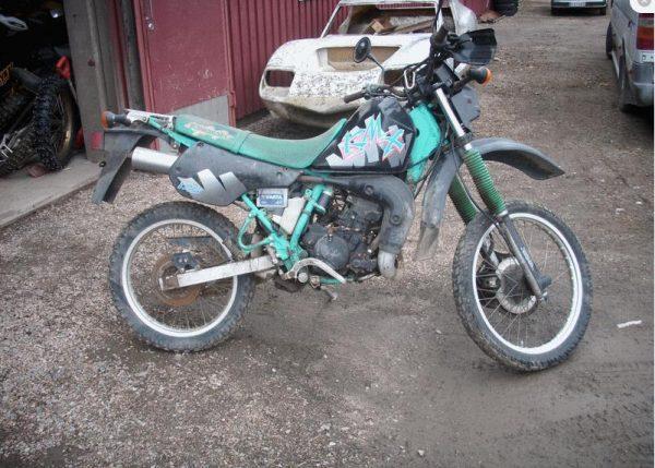Kawasaki KMX 125 -91