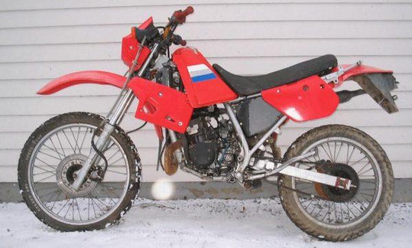 Kawasaki KMX 125 -87
