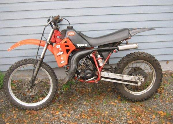 KTM 125 MX -86