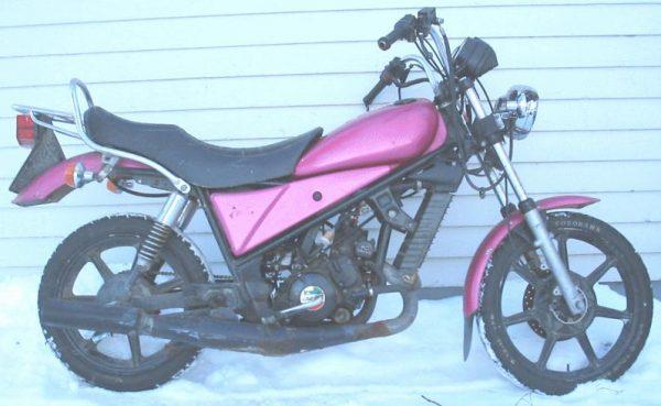 Laverda CU 125 -86