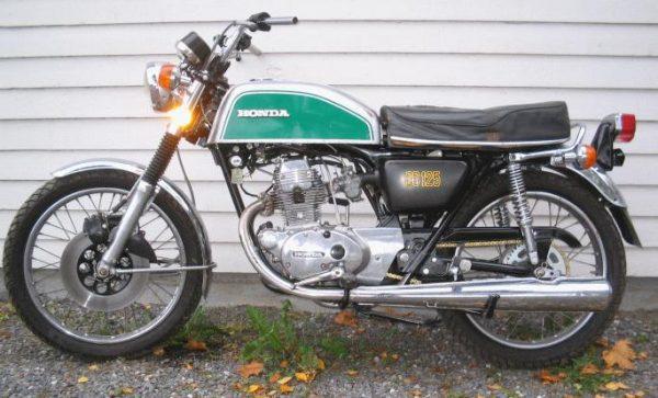 Honda CB 125 -75