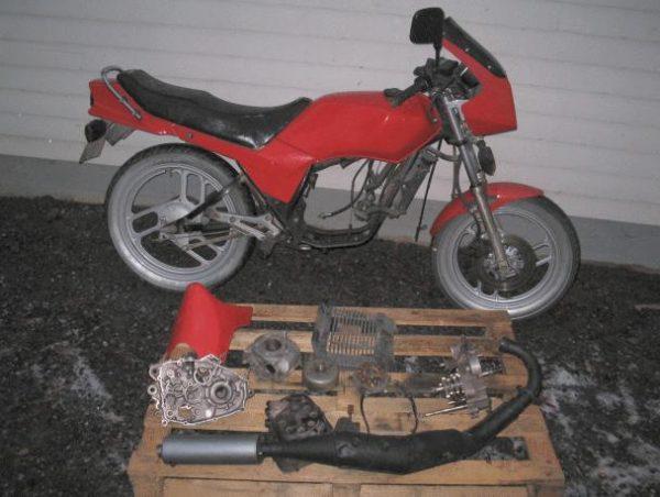 Yamaha RD 125 -87