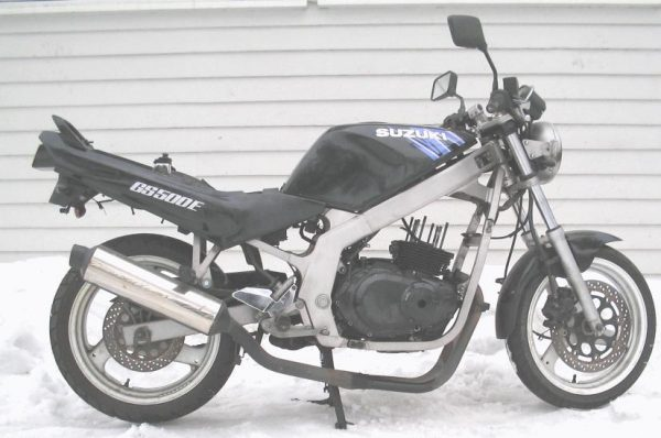 Suzuki GS 500 E -92