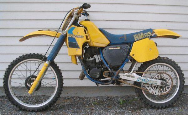 Suzuki RM 125 -83