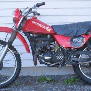 Suzuki TS 125 ER -80