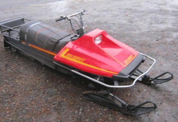 Yamaha BR 250T -88