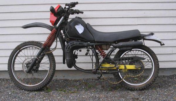 Yamaha DT 125 -87