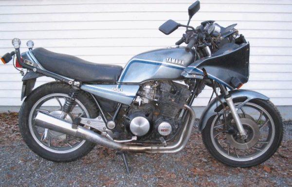 Yamaha XJ 650 -82