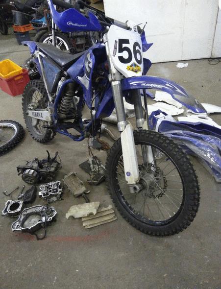 Yamaha YZF 250 -03