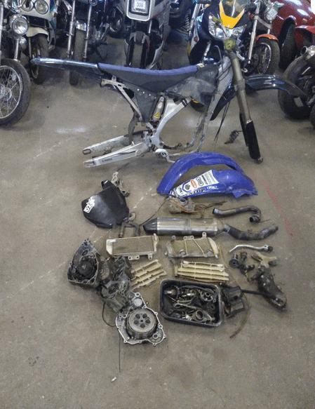 Yamaha YZF 250 -07
