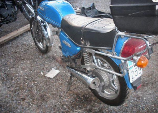 Honda CX 500 -82