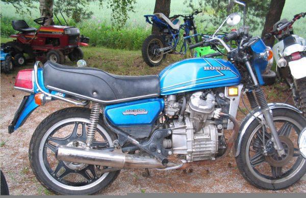 Honda CX 500 -83