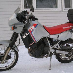 Kawasaki KLR 650 -89