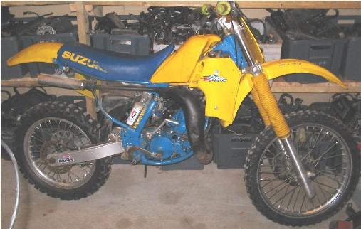 Suzuki RM 125 -82-88