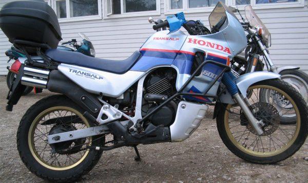 Honda XL 600V TRANSALP -89