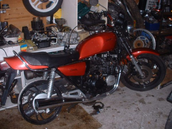Yamaha XJ 550 -83