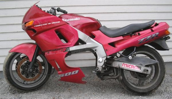 Kawasaki ZZR 600-90
